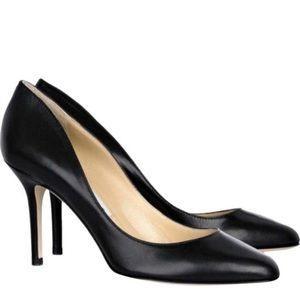 Classic Jimmy Choo black leather heels